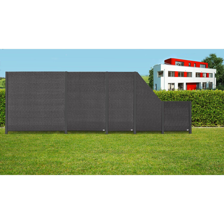 elegant sichtschutzzaun anthrazit einzigartige ideen zum sichtschutz. Black Bedroom Furniture Sets. Home Design Ideas