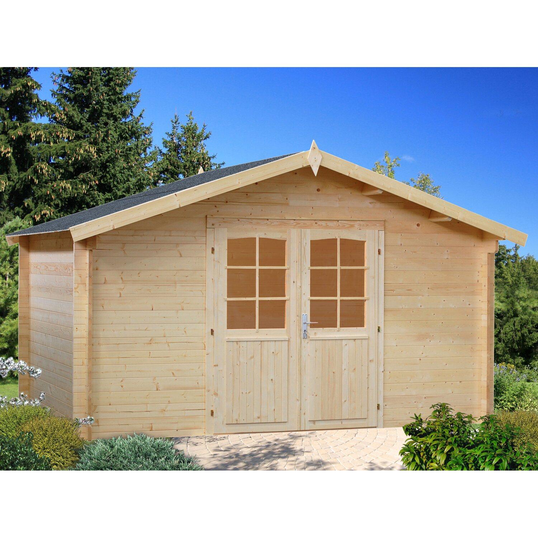 Palmako Holz-Gartenhaus Lotta 380 cm x 380 cm