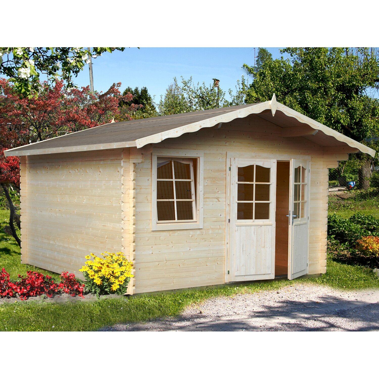 Palmako Holz-Gartenhaus Emma 360 cm x 300 cm