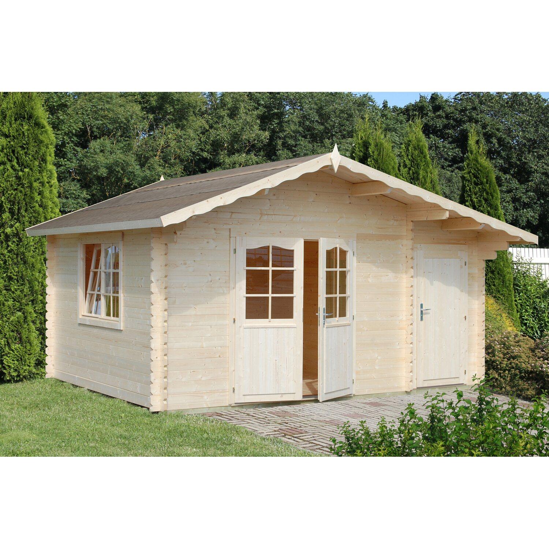 Palmako Holz-Gartenhaus Emma 450 cm x 330 cm