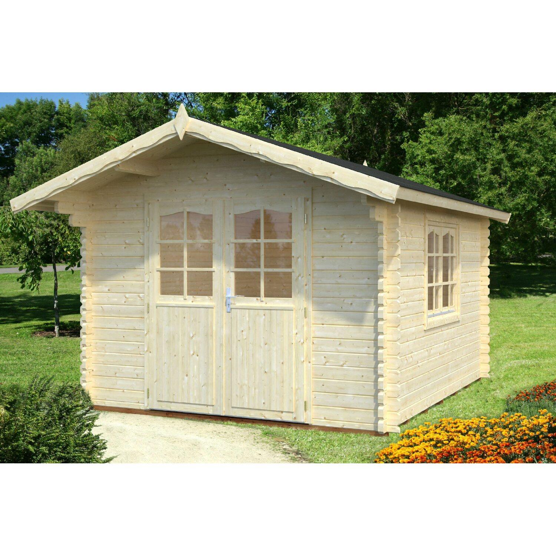 Palmako Holz-Gartenhaus Sally 300 cm x 360 cm