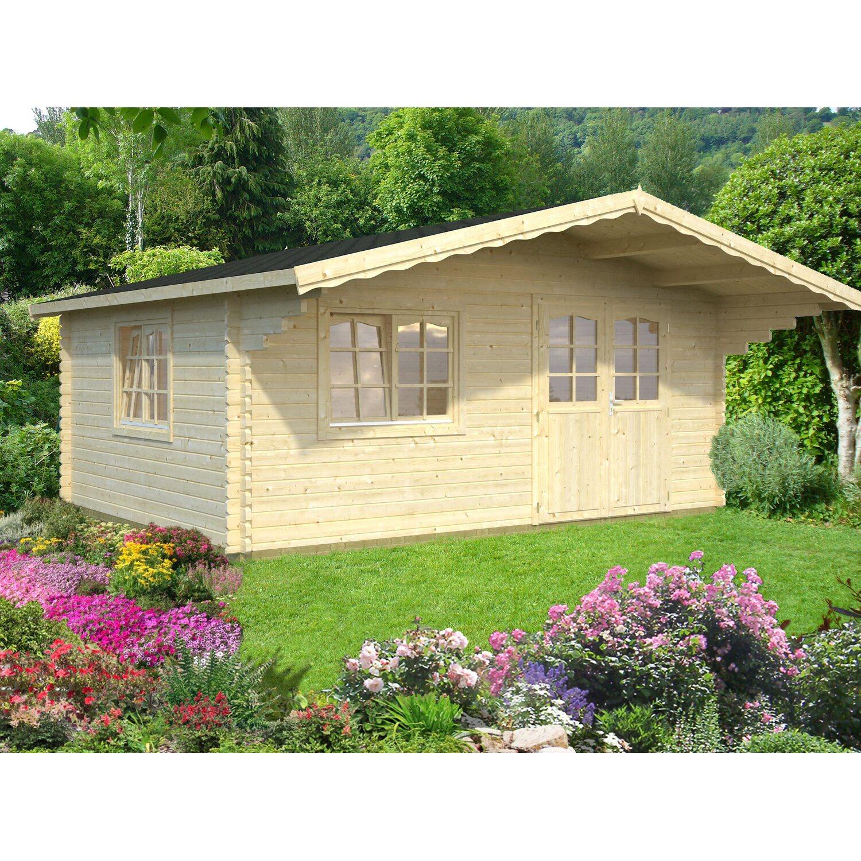 palmako holz gartenhaus sally 510 cm x 390 cm kaufen bei obi. Black Bedroom Furniture Sets. Home Design Ideas