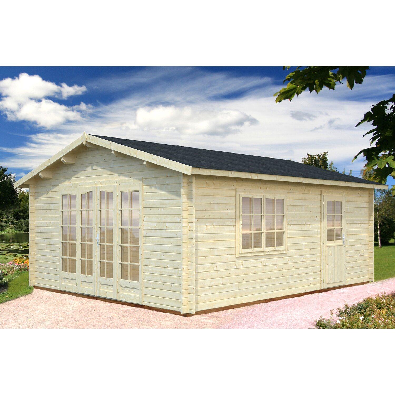 Palmako Holz-Gartenhaus Irene 450 cm x 550 cm
