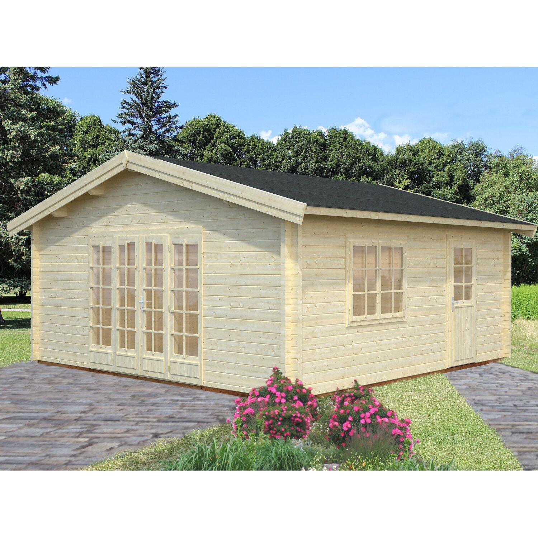 Palmako Holz-Gartenhaus Irene 540 cm x 540 cm