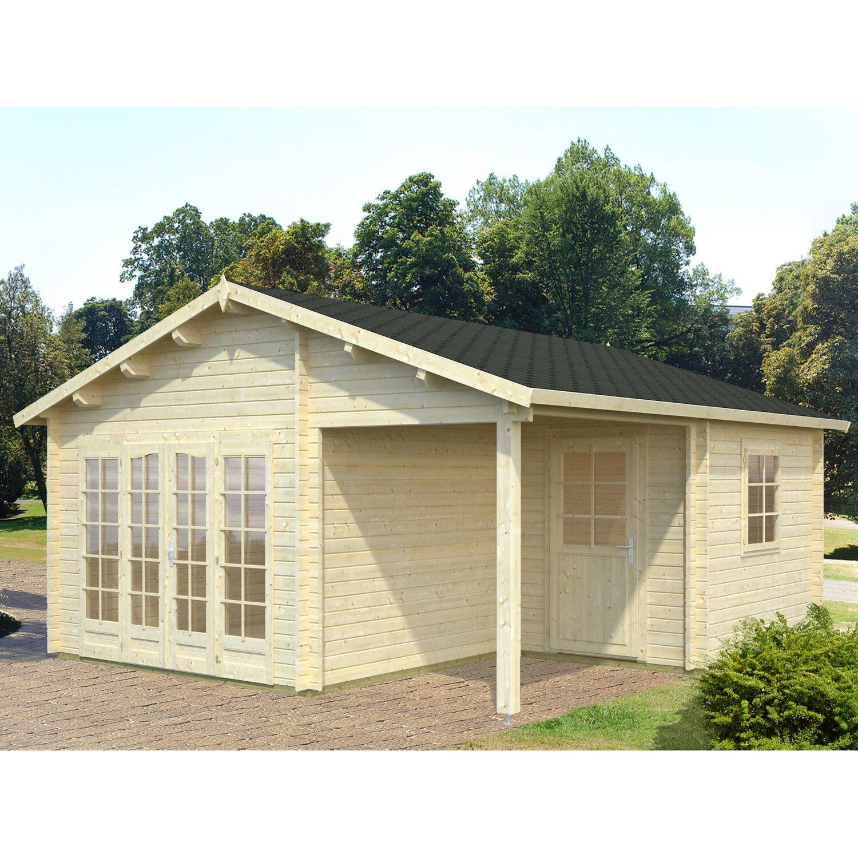 Palmako Holz-Gartenhaus Irene 510 cm x 550 cm