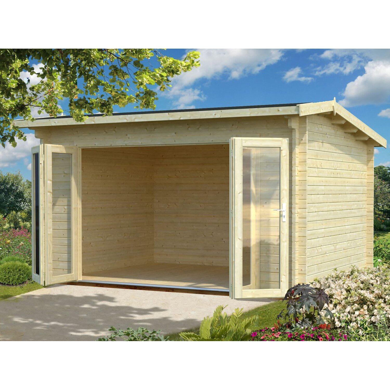 Palmako Holz-Gartenhaus Ines 390 cm x 300 cm
