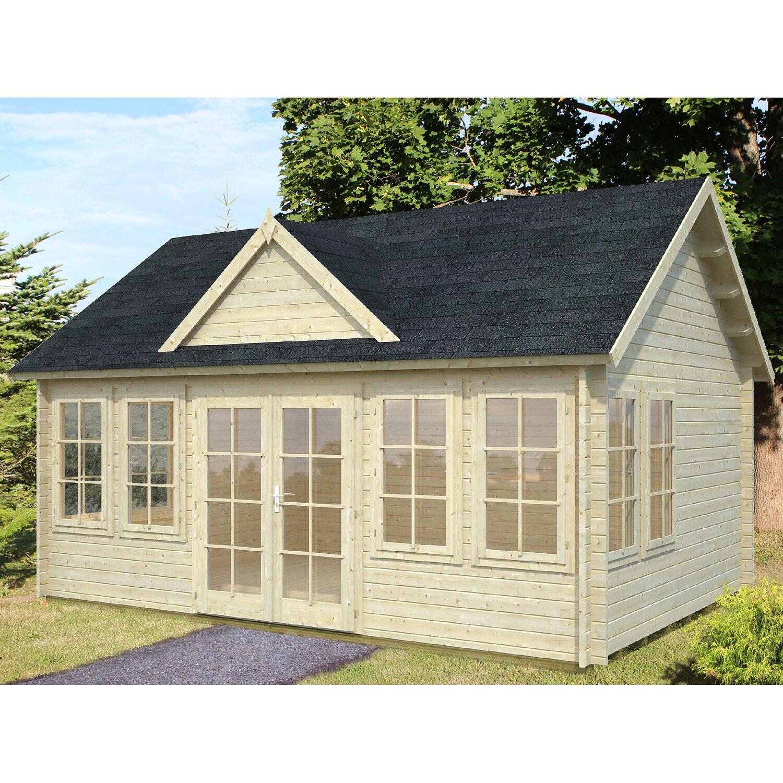 palmako holz gartenhaus claudia 530 cm x 380 cm kaufen bei obi. Black Bedroom Furniture Sets. Home Design Ideas