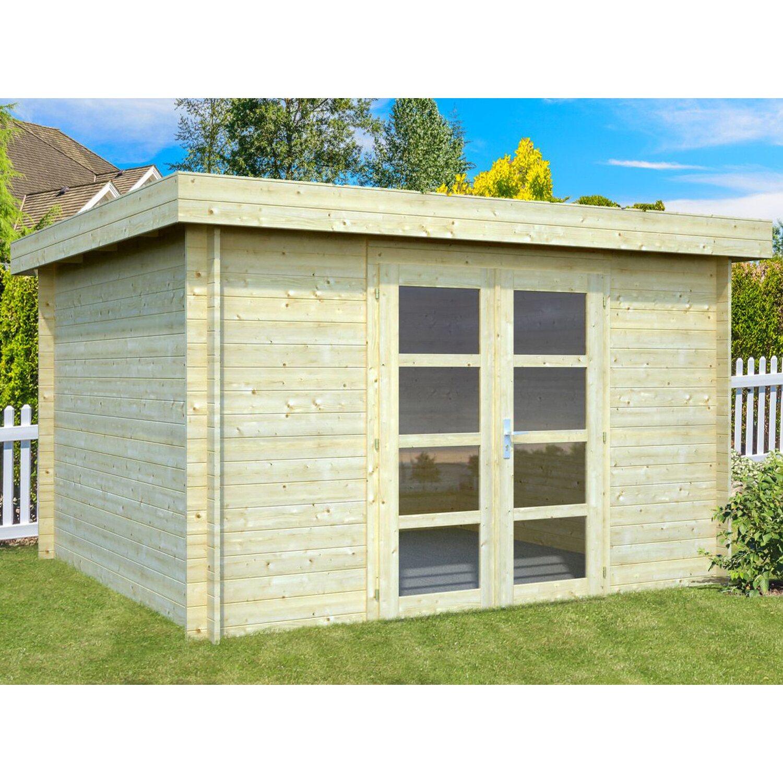 Palmako Holz-Gartenhaus Elsa 330 cm x 300 cm