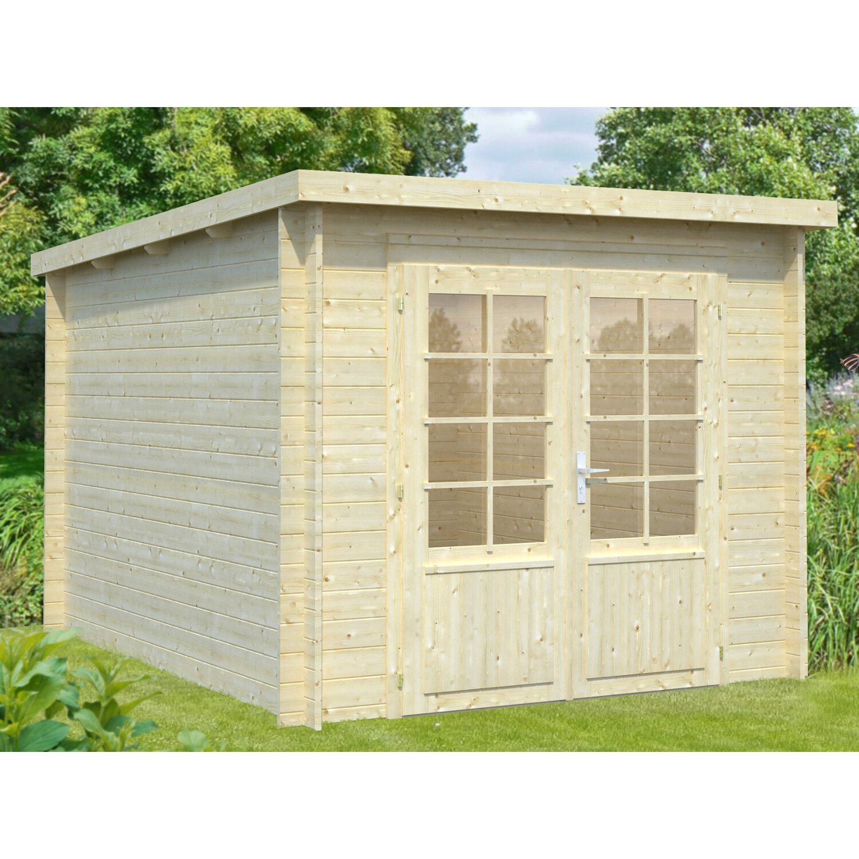 Palmako Holz-Gartenhaus Ella 240 cm x 300 cm