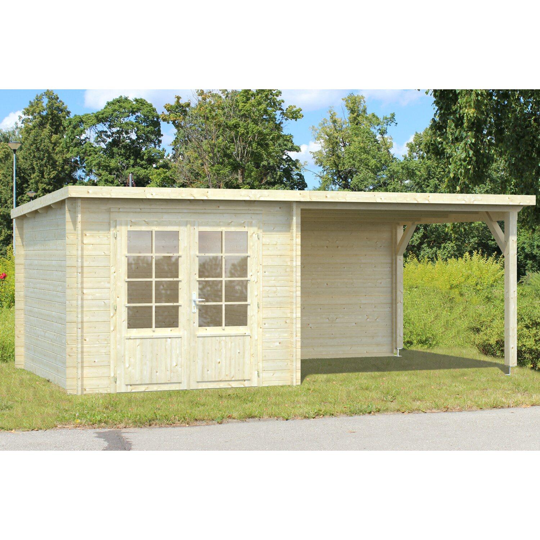 Palmako Holz-Gartenhaus Ella 530 cm x 300 cm