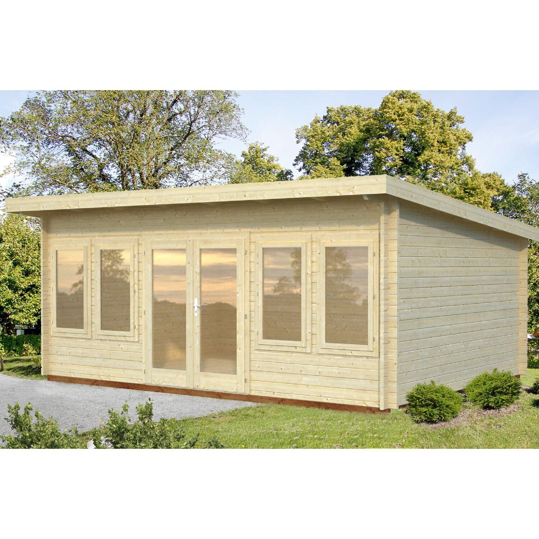 Palmako Holz-Gartenhaus Lisa 530 cm x 380 cm