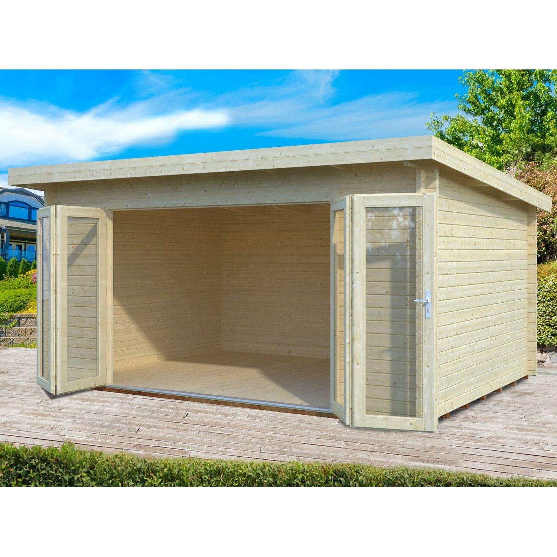 Palmako Holz-Gartenhaus Lea 450 cm x 330 cm