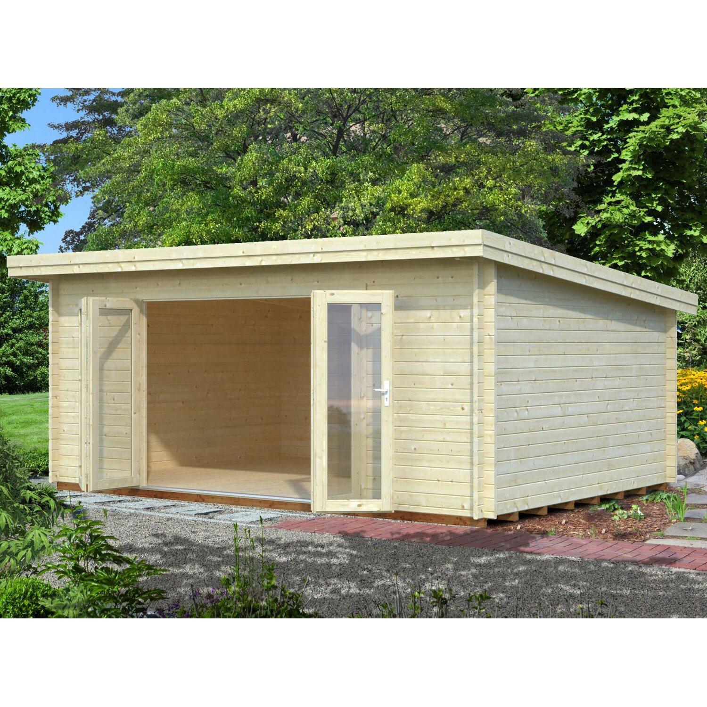 Palmako Holz-Gartenhaus Lea 530 cm x 380 cm