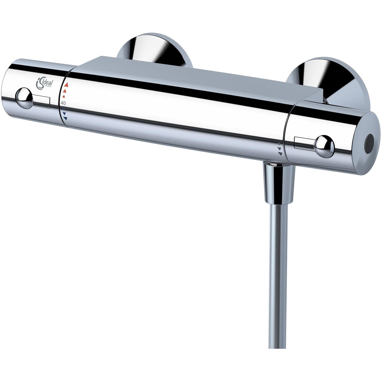 Ideal standard thermostat armatur ceratherm 50 verchromt kaufen bei obi - Hersteller badarmaturen ...