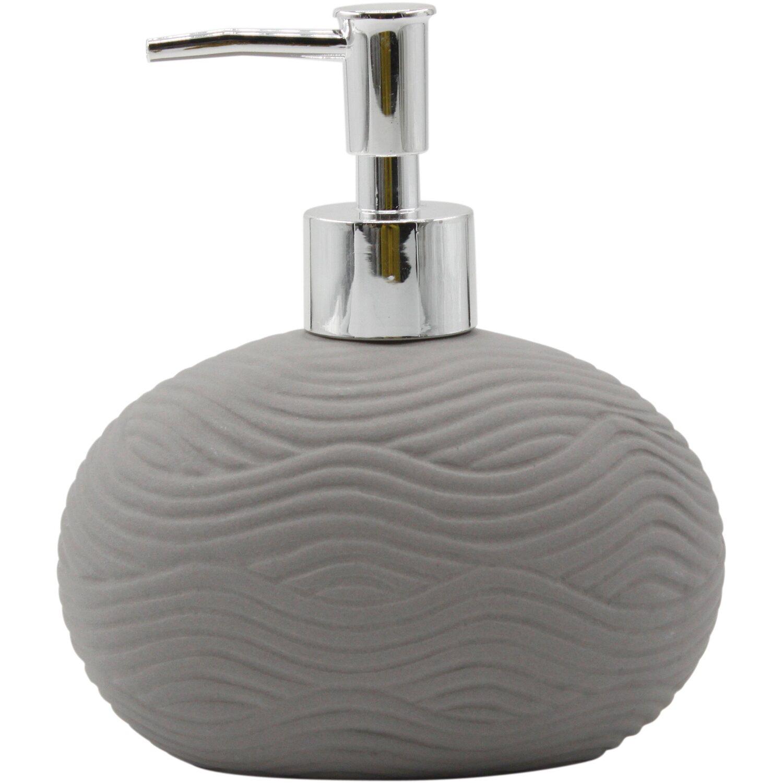 seifenspender wave keramik grau stonetouch kaufen bei obi. Black Bedroom Furniture Sets. Home Design Ideas