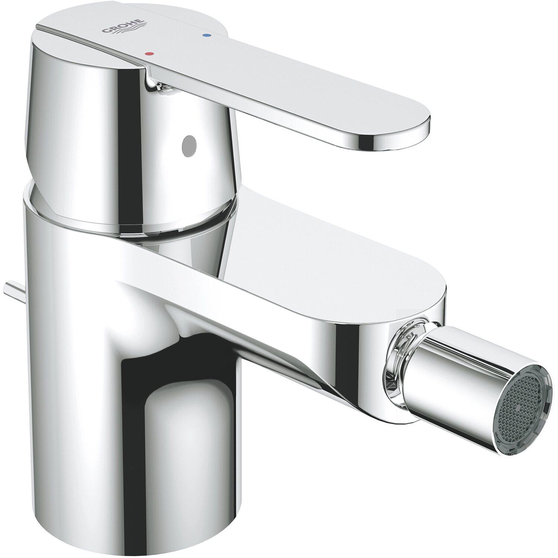 Einhebel Bidetarmatur Badarmatur Bad Wasserhahn für Bidet mit Ablaufgarnitur