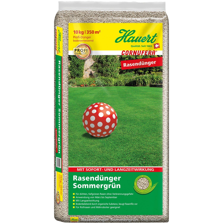 Hauert  Cornufera Rasendünger Sommergrün 10 kg