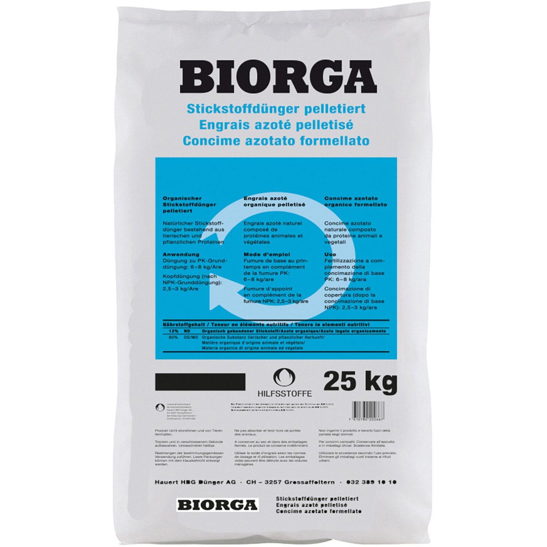 Hauert  Biorga Stickstoffdünger pelletiert 25 kg