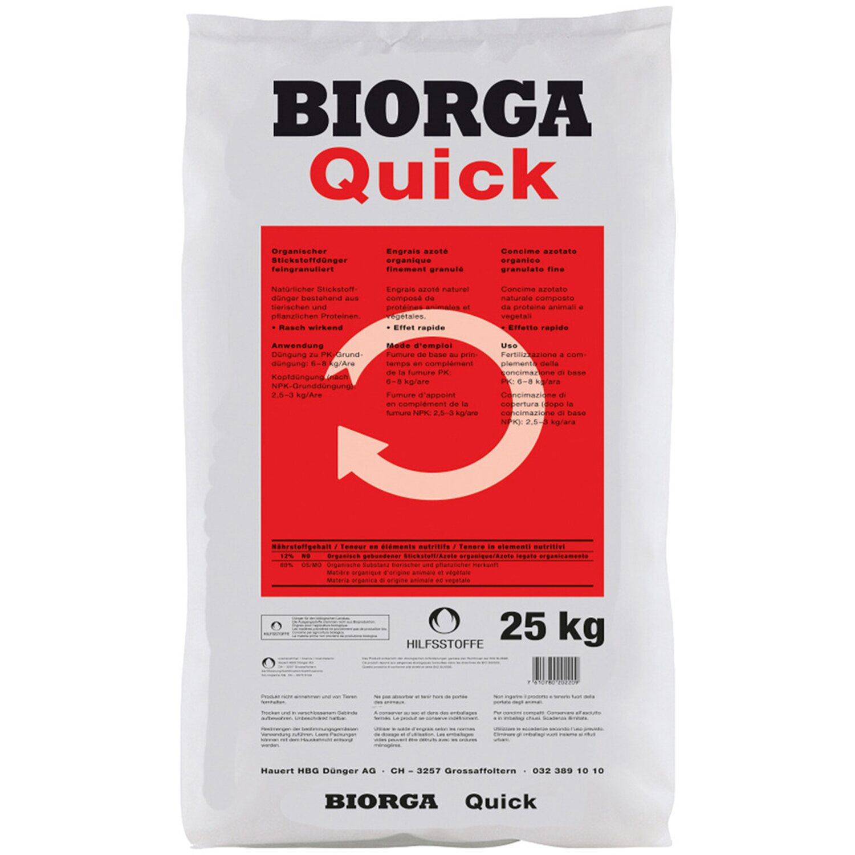 Hauert  Biorga Quick 25 kg