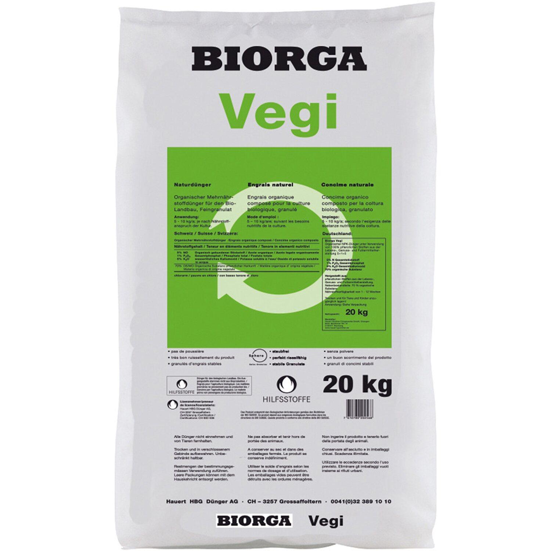 Hauert  Biorga Vegi 20 kg