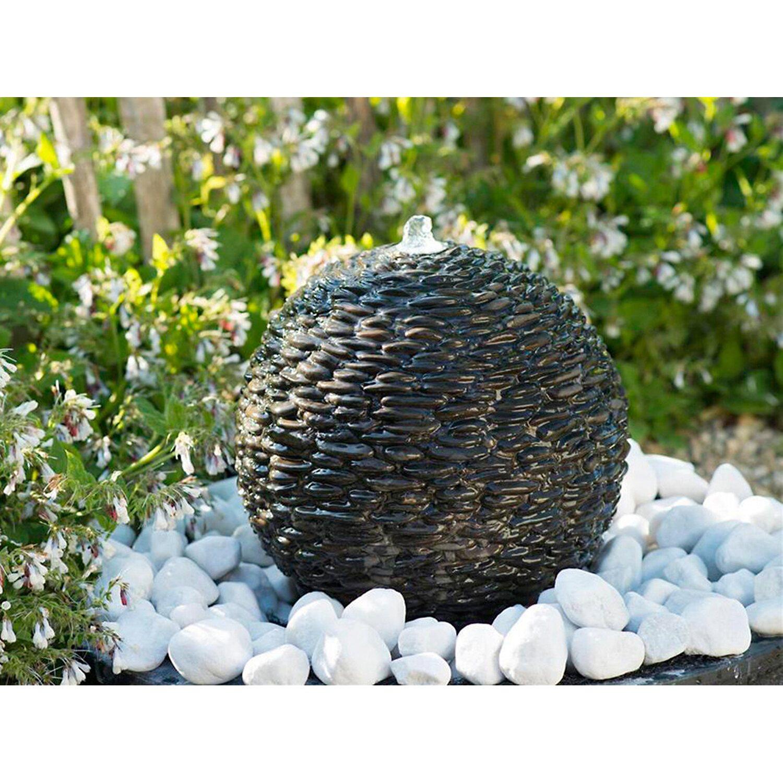 AcquaArte  Gartenbrunnen-Set Selva Ø 34 cm LED