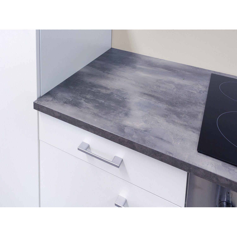 Flex-Well Küchenzeile Lucca 270 cm Weiß mit Turmhaube inkl ...