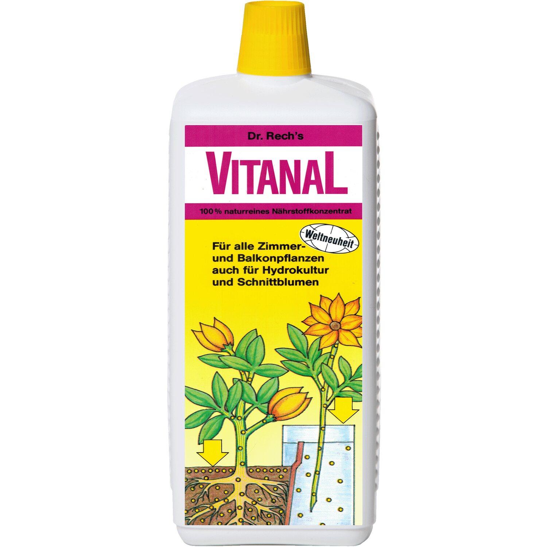 Vitanal Dünger für alle Zimmerpflanzen 1 l   Garten > Pflanzen > Dünger   Vitanal