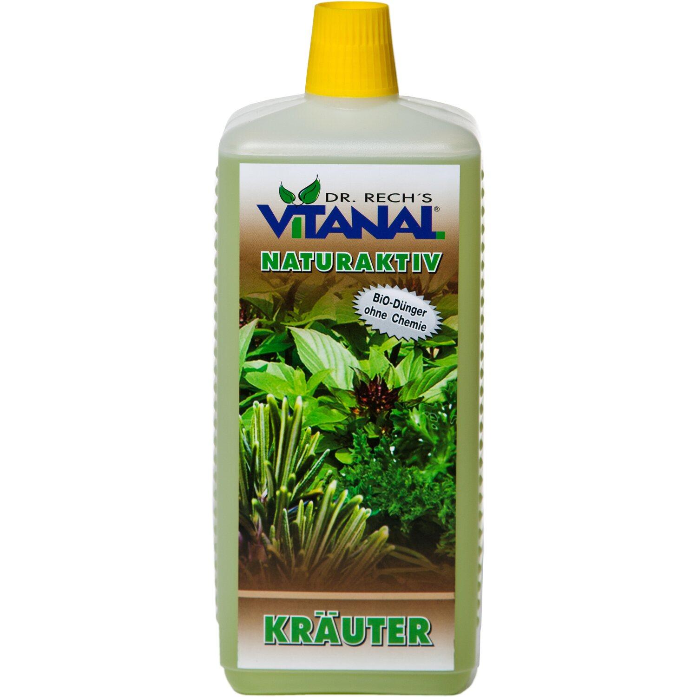Vitanal Dünger NaturAktiv für Kräuter 1 l   Garten > Pflanzen > Dünger   Vitanal