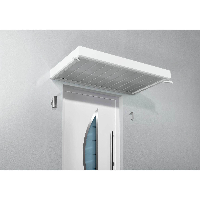 gutta rechteckvordach nm 150 wei 14 cm x 150 cm x 90 cm kaufen bei obi. Black Bedroom Furniture Sets. Home Design Ideas