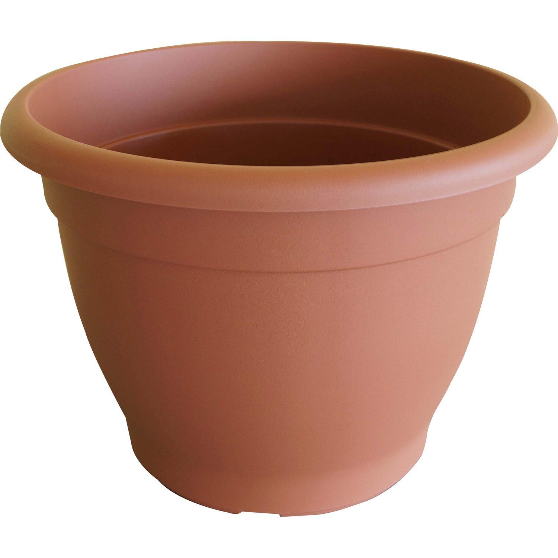 pflanztopf campana mit bew sserungssystem 50 cm terrakottafarben kaufen bei obi. Black Bedroom Furniture Sets. Home Design Ideas