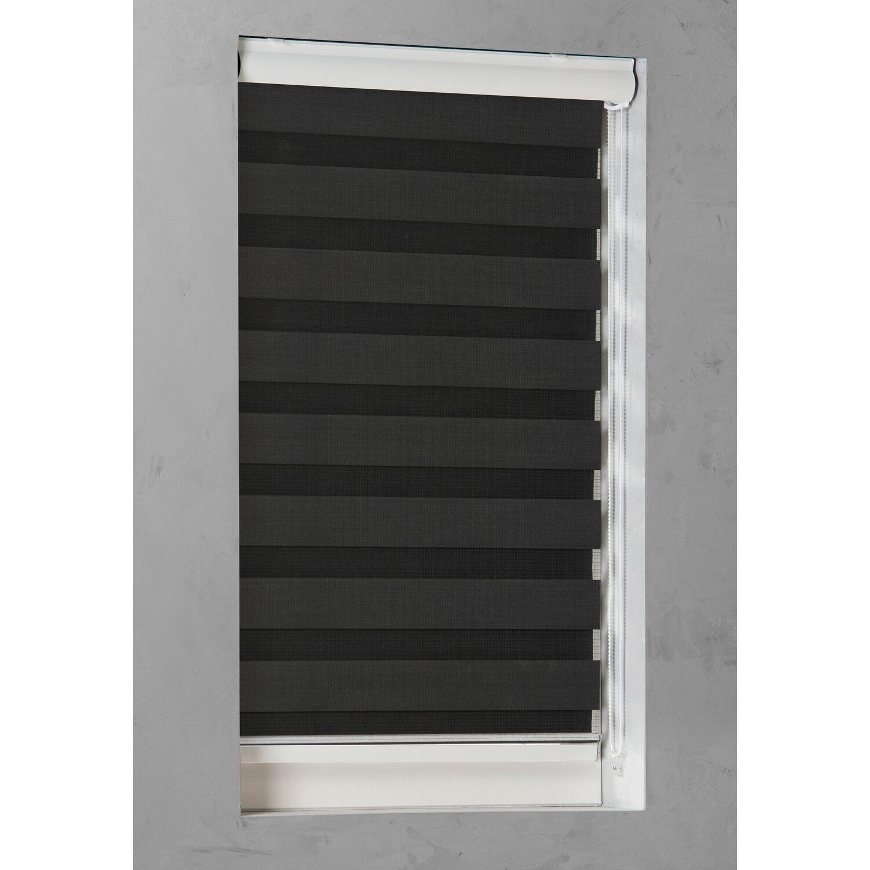 cocoon doppelrollo tageslicht 28 mm schwarz 220 cm x 175 cm kaufen bei obi. Black Bedroom Furniture Sets. Home Design Ideas