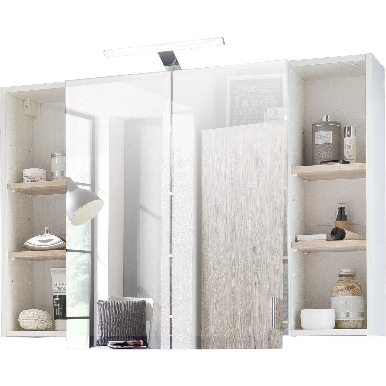 kesper spiegelschrank mit led beleuchtung 100 cm scala kaufen bei obi. Black Bedroom Furniture Sets. Home Design Ideas