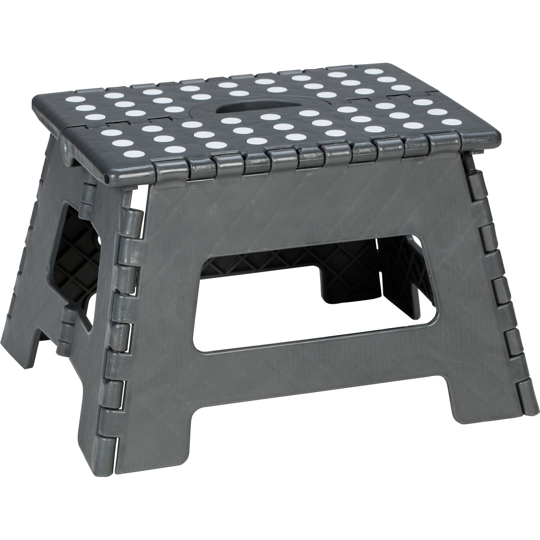 Zeller Klapphocker faltbar Tritthocker Fußbank Klappstuhl belastbar bis 150 kg