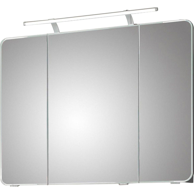 Pelipal Spiegelschrank 90 Cm Fokus 4005 Steingrau Hochglanz Eek A A