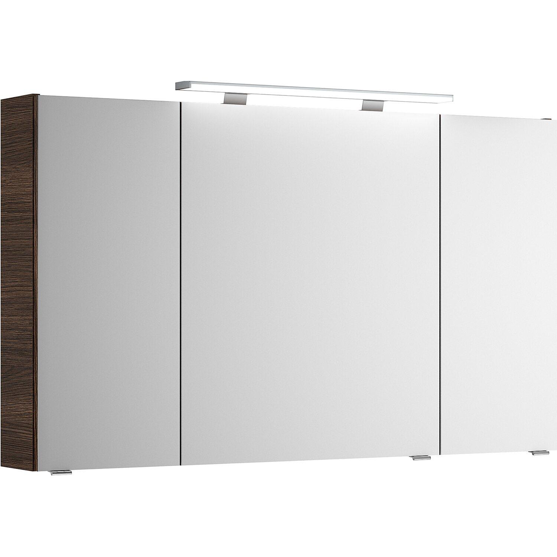 pelipal spiegelschrank 120 cm fokus 4010 mokka struktur kaufen bei obi. Black Bedroom Furniture Sets. Home Design Ideas