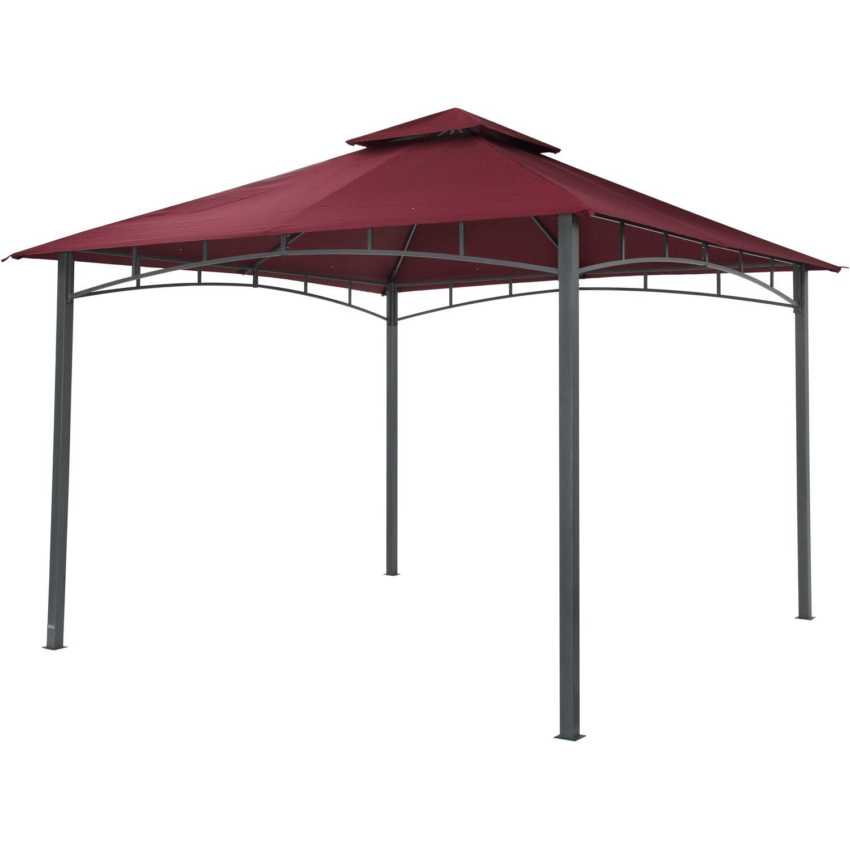 tepro pavillon waya 330 cm x 330 cm burgund kaufen bei obi. Black Bedroom Furniture Sets. Home Design Ideas