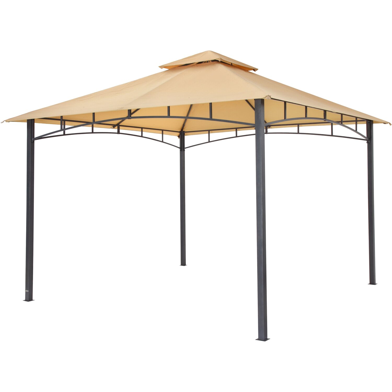 tepro pavillon waya 330 cm x 330 cm sand kaufen bei obi. Black Bedroom Furniture Sets. Home Design Ideas