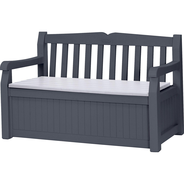 keter gartenbank 265 l anthrazit kaufen bei obi. Black Bedroom Furniture Sets. Home Design Ideas