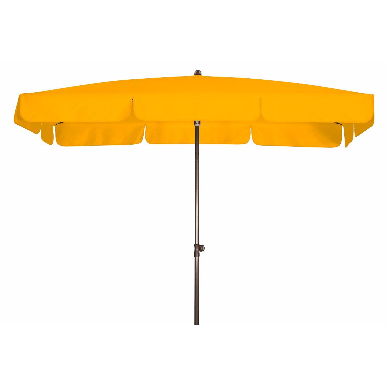 sonnenschirm rechteckig gelb