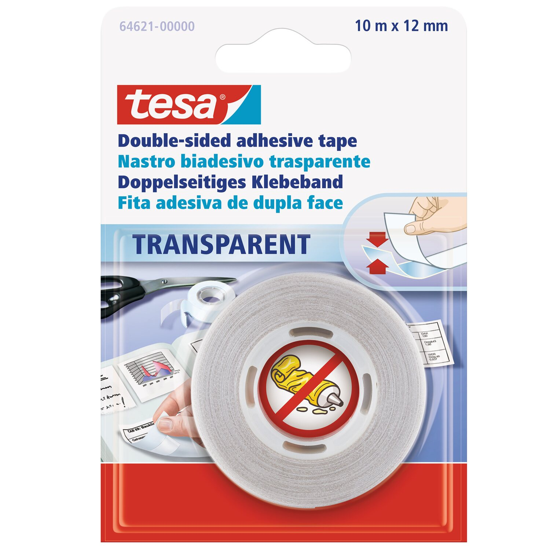 Obi Doppelseitiges Klebeband : tesa doppelseitiges klebeband transparent 10 m x 12 mm kaufen bei obi ~ Watch28wear.com Haus und Dekorationen