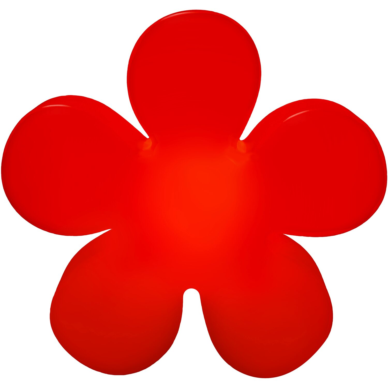 8 Seasons Design  Beleuchtete Blume 60 cm Rot