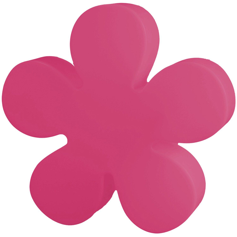 8 Seasons Design  Beleuchtete Blume 60 cm Pink