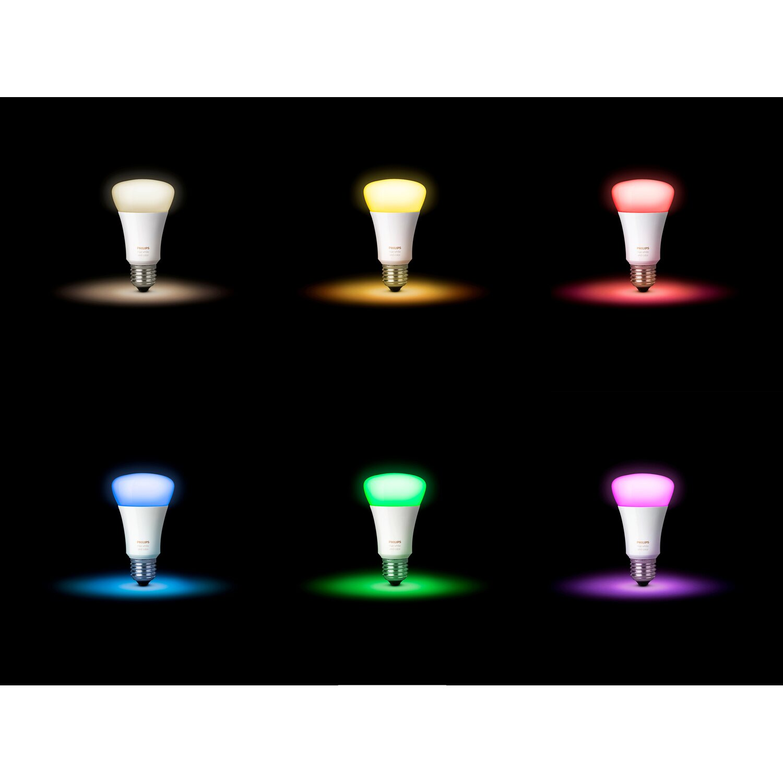 Philips Hue LED E27 Erweiterung RGBW 10W LED Lampen