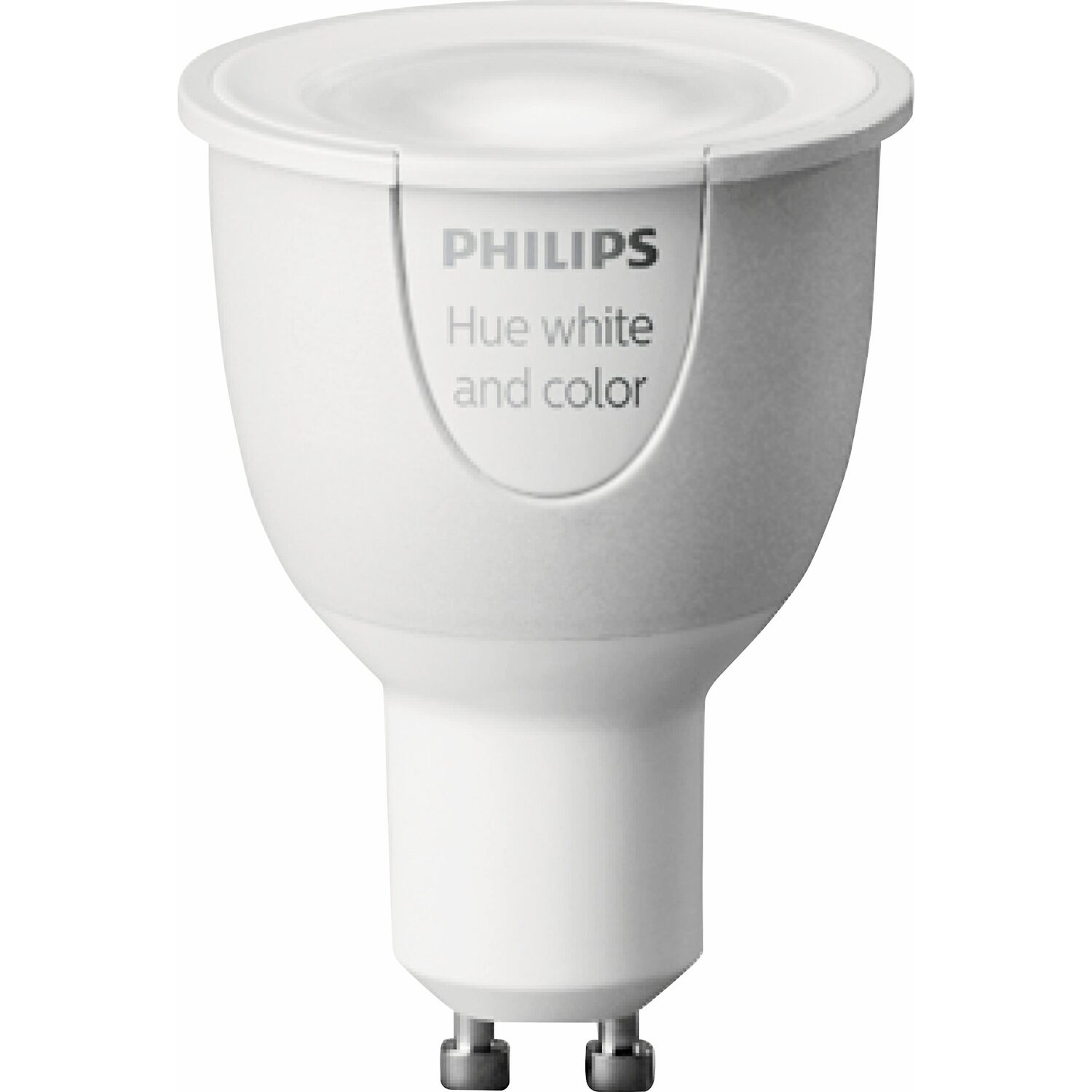 Philips Hue LED-Lampe GU10/6,5W Weiß&Mehrfarbig Color Ambience ...