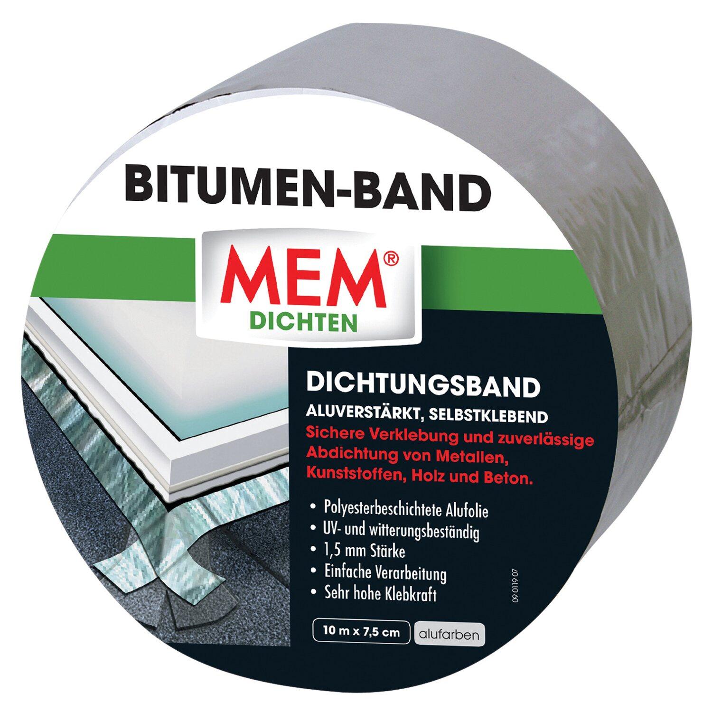 MEM Bitumen-Band Alu 7,5 cm x 10 m
