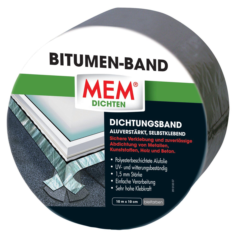 MEM Bitumen-Band Blei 10 cm x 10 m