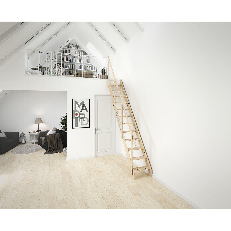 dolle raumspartreppe kiel fichte unbehandelt kaufen bei obi. Black Bedroom Furniture Sets. Home Design Ideas