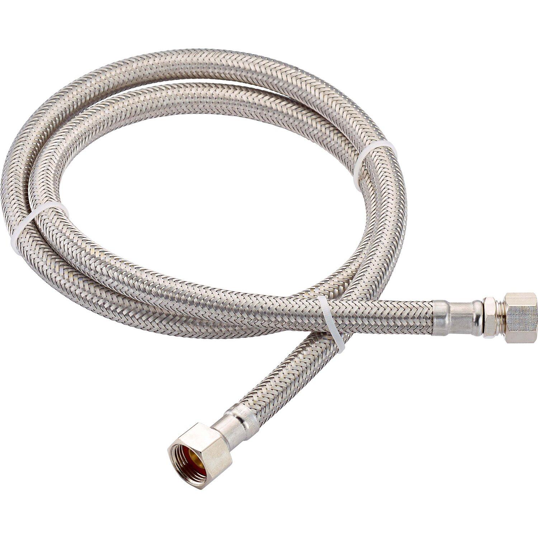 LUX Flex-Armaturen-Verbindungsschlauch 14,9 mm (G 3/8) x 8 mm x 1000 mm