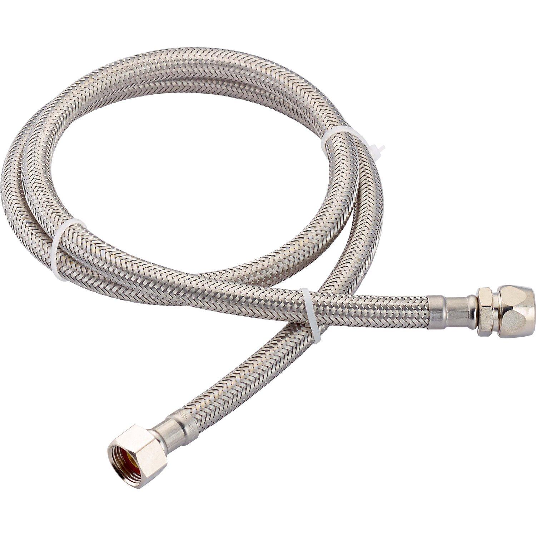 LUX Flex-Armaturen-Verbindungsschlauch 14,9 mm (G 3/8) x 10 mm x 1000 mm