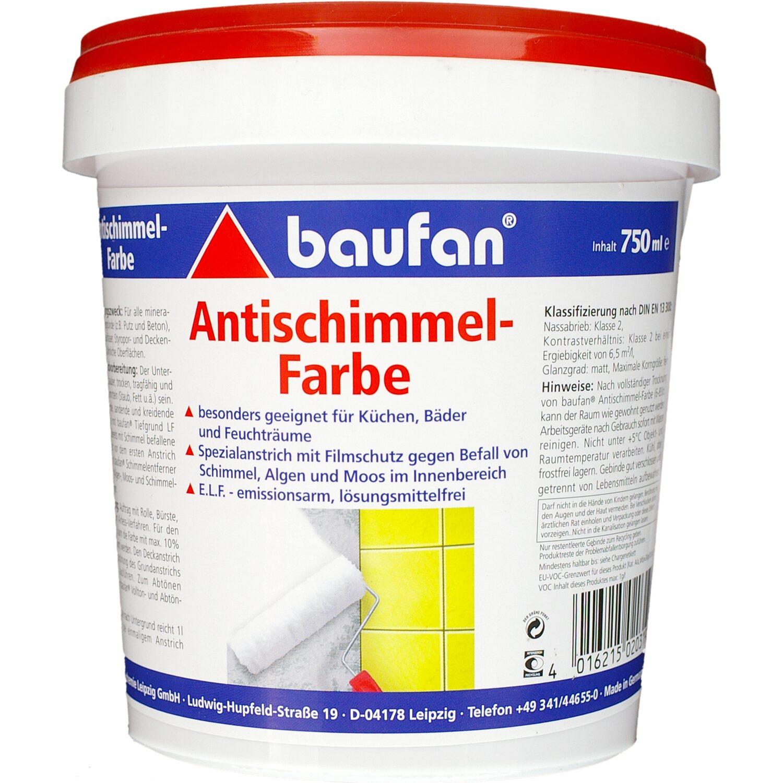 Trendig Baufan Antischimmel-Farbe 750 ml kaufen bei OBI NH86